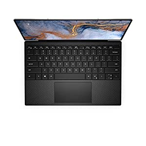 Dell XPS 13 (9310), 13.4- inch UHD+ Touch Laptop - Intel Core i7-1185G7, 32GB 4267MHz LPDDR4x RAM, 2TB SSD, Iris Xe Graphics, Windows 10 Home - Platinum Silver with Black Palmrest (Latest Model)