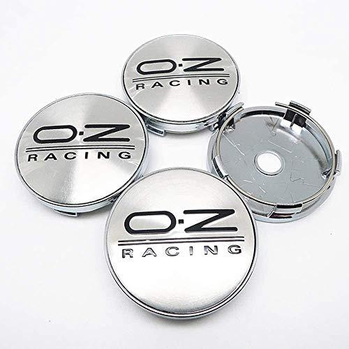 4 Piezas Tapas centrales, para OZ Racing Coche Central Llanta Rueda Cubre Embellecedor Insignia