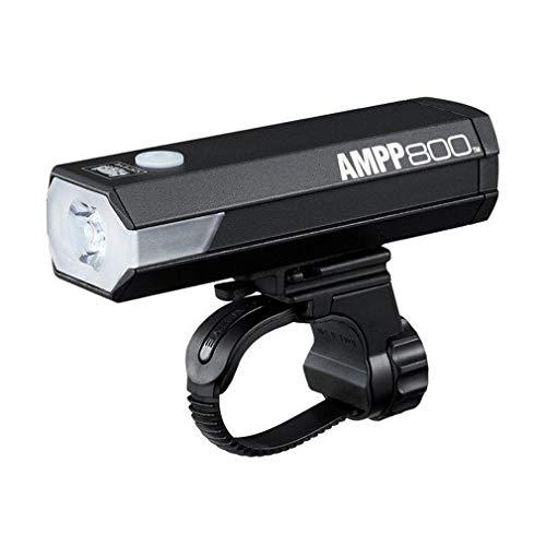 Cat Eye Ampp 800 Front Luz para Bicicleta, Unisex Adulto, Negro, Talla única