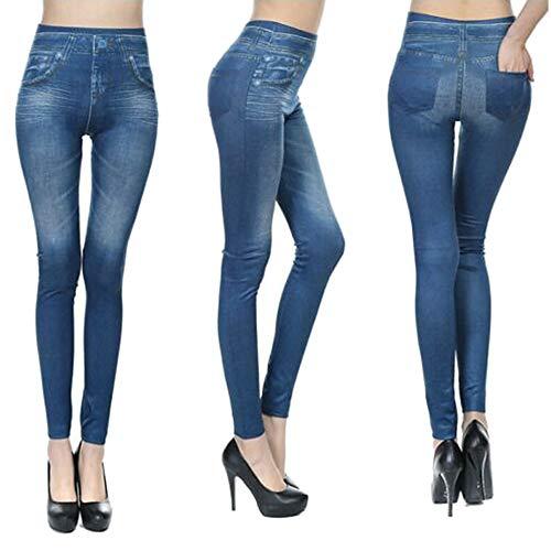 Watkings 2019 nieuwe damesjeans, retro casual hoge taille dunne dunne stretchy jeans, leggings ademende broek voor herfst party