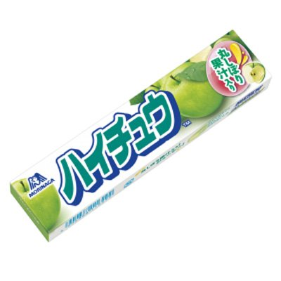 森永製菓 ハイチュウ〈グリーンアップル〉 12粒 144コ入り