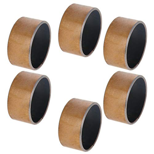 Othmro Sleeve Bearing 45mm Bore x 50mm OD x 25mm Length Plain Bearings Wrapped Oilless Bushings Pack of 6
