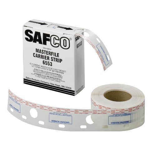 Safco Products Polyester Carrier Strips, 2 1/2