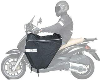 COPRIGAMBE UNIVERSALE MOTO SCOOTER OJ KYMCO DYNK 150 2003 FELPATO NERO