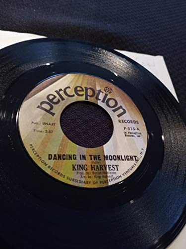 King Harvest 45 RPM Dancing In The Moonlight / Marty And The Captain