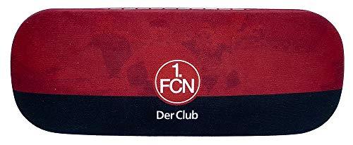 1. FC Nürnberg Brillenetui rot-schwarz