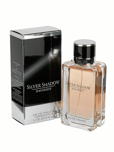 Davidoff SILVER SHADOW homme / man, Eau de Toilette, Vaporisateur / Spray, 50 ml