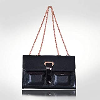 Gianfranco Ferre Textured Patent Leather Evening Bag