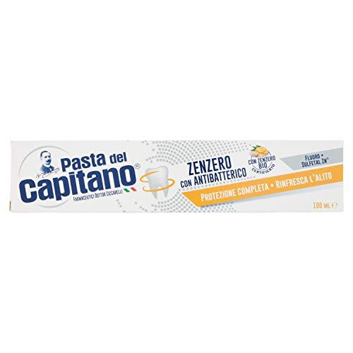 Pasta del Capitano Dentifricio Zenzero con Antibatterico, 100 ml