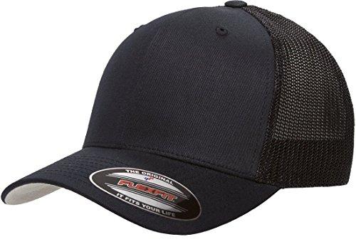 Flexfit 6511 Trucker Mesh Cap w/THP No Sweat Headliner Bundle Pack