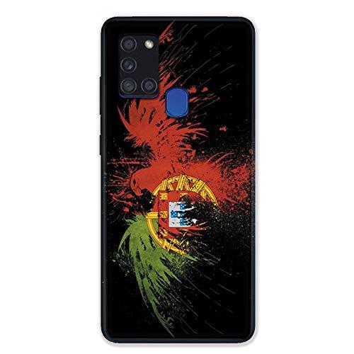 Schutzhülle für Samsung Galaxy A21S, Motiv Portugal Adler