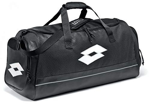 Lotto BAG RAPTOR, Unisex-Erwachsene Rucksack, Schwarz (Blk/Wht), 36x24x45 cm (W x H L)