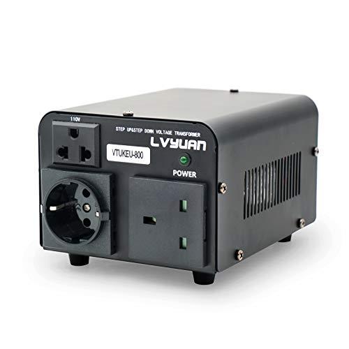 Yinleader Transformador de tensión (800 VA 110 V USA...