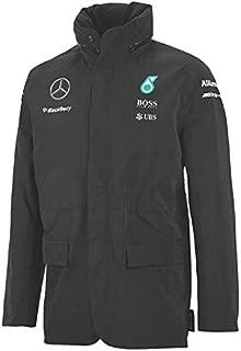 Mercedes AMG Team Rain Jacket 2015 L Gray