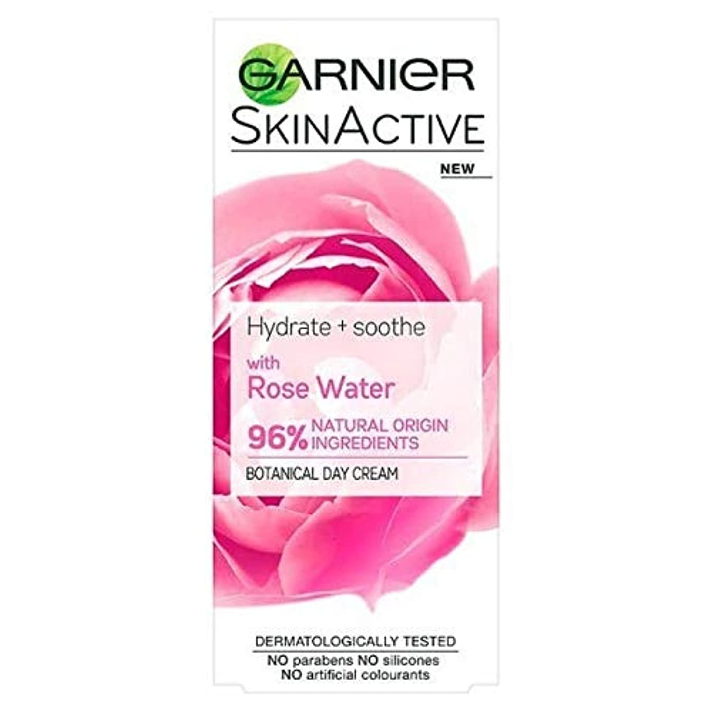 バスルーム五月解釈する[Garnier ] ガルニエ自然バラ水保湿敏感肌の50ミリリットル - Garnier Natural Rose Water Moisturiser Sensitive Skin 50ml [並行輸入品]
