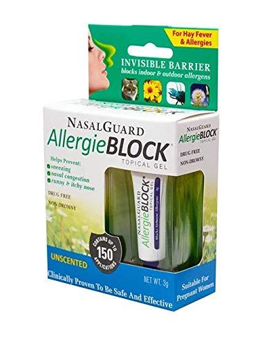 NasalGuard AllergieBLOCK - Allergy Relief and Allergen Blocker Nasal Gel -...