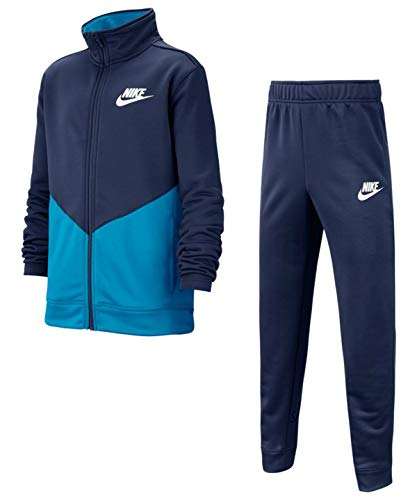 Nike Sportswear trainingspak jongens Blue XS