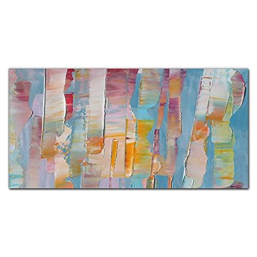 Coloray Obraz Na Szkle Akrylowym Plexiglass 100x50cm Nadruk Dekoracja Do Salonu Dekoracja Wnętrza Ozdoba Ścienna Obraz Akrylowy - Bohomazy z farby