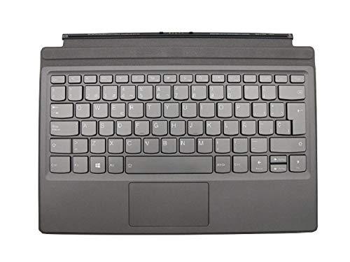 RTDpart Teclado de Ordenador portátil para Lenovo Ideapad Miix 520520-12IKB Tablet Folio España SP 5N20N88605 03X7551 con retroiluminación Gris Nuevo