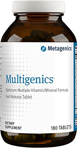 Metagenics - Multigenics with Iron, 180 Count