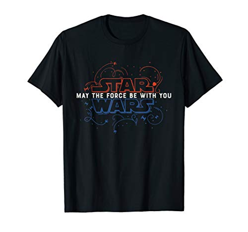 Star Wars May The Force Be With You Fourth of July T-Shirt