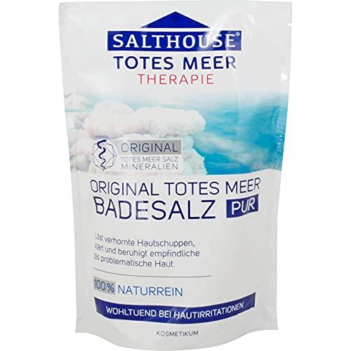 SALTHOUSE Original Totes Meer Badesalz, 500 g Salz