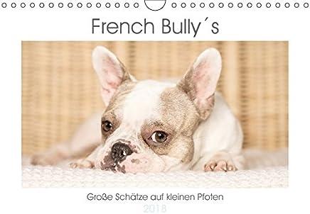 French Bully´s - Große Schätze auf kleinen Pfoten (Wandkalender 2018 DIN A4 quer): Die Französische Bulldogge, ein treuer Begleiter der stets für ein Lächeln sorgt (Monatskalender, 14 Seiten )