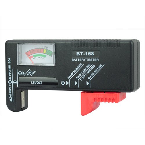 Universal Battery Checker Tester AA AAA C D 9V Button in Consumer Electronics, Multipurpose Batteries