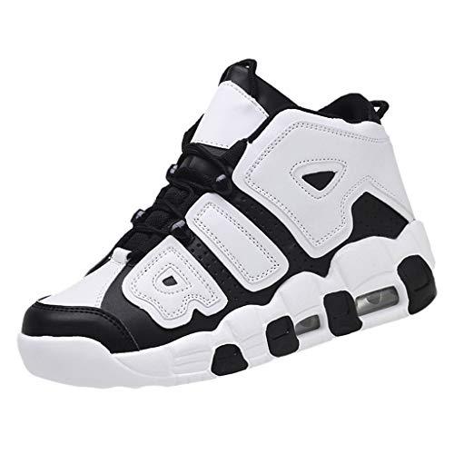 KERULA Sneakers, Unisex-Erwachsene Schuhe Bequeme Work Wanderschuhe Turnschuhe Die BeiläUfigen Sportschuhe der Art und WeisemäNner Bequeme Tragbare Hohe Basketball Schuhe für Damen & Herren