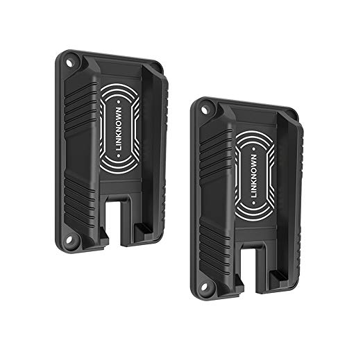LINKNOWN Gun Magnet & Magnetic Gun Mount - Holster - Quick Load & Draw, Concealed Tactical Firearm Accessories,Concealed in car,Truck,Vehicle,Cashier,Desks,Walls (2 Pack)