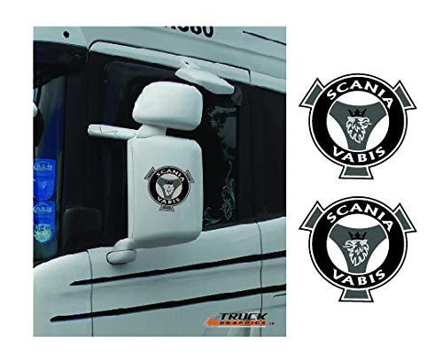 Scania Wing Mirror R-Serie Streamline, Sticker, Embleem, Scania Vabis 32