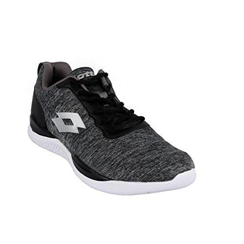 Lotto Men's Downey Blk/Wht Running Shoes-7 UK/India (41 EU) (AL4859-010)
