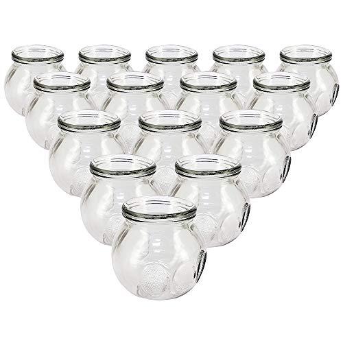 Royal Massage Fire Glass Cupping Jar #5 - Set of 15