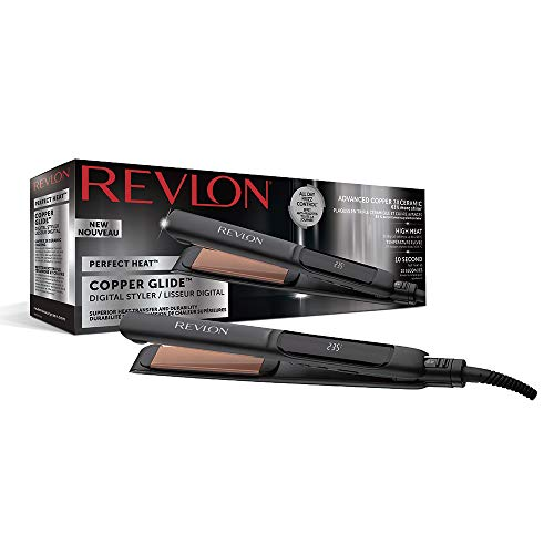 Revlon Perfect Heat Copper Glide - Plancha Estilizadora Digital