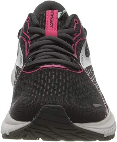 Brooks Adrenaline GTS 21, Zapatillas para Correr Mujer, Black Raspberrysorbet Ebony, 38.5 EU