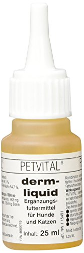 Canina Petvital Derm- Liquid, 1er Pack (1 x 0.025 kg)