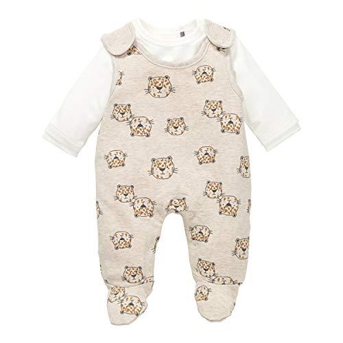 bellybutton Baby-Mädchen Set aus Strampler und Langarmshirt Kleinkind-Schlafanzüge, Allover|Multicolored, 62