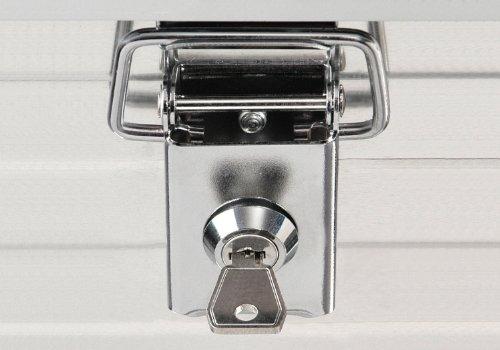 Enders® Aluminiumbox STECKSCHLOSS-SET (paarweise gleichschließend), 3750