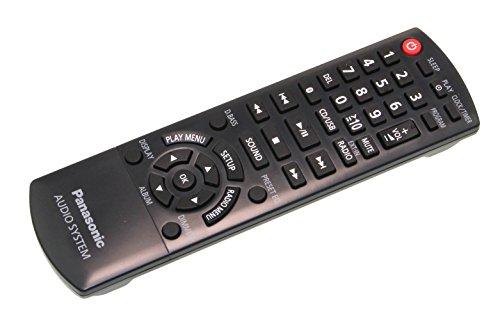 Panasonic N2QAYB001101 Fernbedienung (Ersatz für N2QAYB001018) für SC-PMX100, SC-PMX70, SC-PMX80, SC-PMX82,