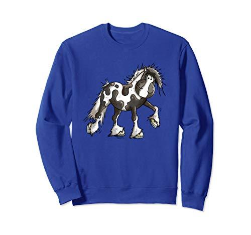 Happy Pinto Pferd I Schecke Pony I Reiter Fun I Tinker Sweatshirt