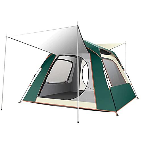 Tienda de campaña para acampar completamente automática, tienda de campaña de gasa al aire libre, carpa con doble cara de facturación rápida, adecuado para camping y senderismo al aire libre,B,Double
