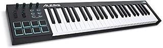 Alesis V49 | 49-Key USB MIDI Keyboard & Drum Pad Controller (8 Pads / 4 Knobs / 4 Buttons) (Renewed)