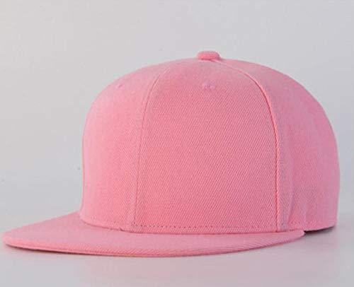 CSXM Pencil case Gorra Gorra de béisbol Sombrero Multicolor Ajustable Snapback Deporte Unisex Aplicar para Correr Pesca Montar Juegos al Aire Libre Etc-Pink_One_Size