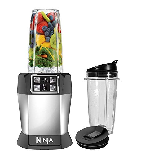 Nutri Ninja BL480D Auto-iQ Blender 1000 Watts, Black (Renewed)