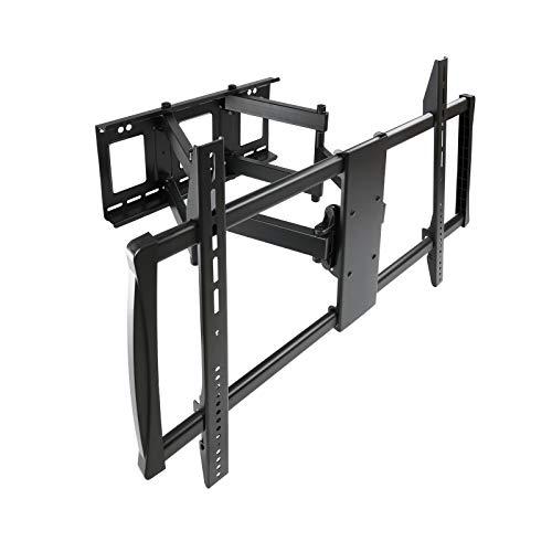 Tooq LP75100TN-B - Soporte de Pared VIDEOWALL para TV de 60' a 100' hasta 80Kg de Peso, Distancia a la parde Desde 70 mm hasta 625 mm, Vesa máximo 600 x 900, inclinación -15+5°, Color Negro