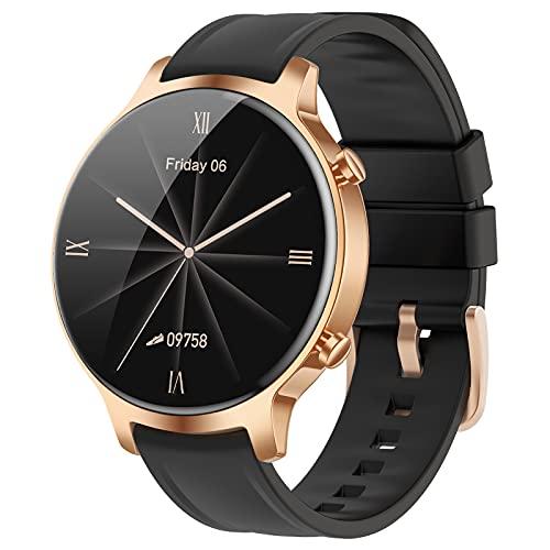 Reloj Inteligente para Mujer Hombre,Relojes Deportivos de Impermeable IP68 con Pulsometro,Monitor de Sueño,Podómetro Pulsera Actividad Inteligentes,Smartwatch,Reloj Deporte para Android iOS