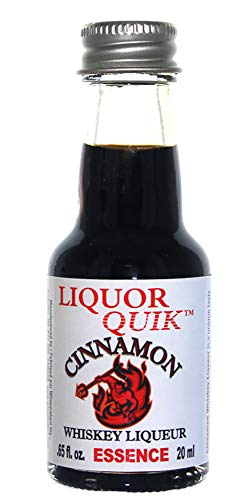 Liquor Quik Natural Whiskey/Bourbon Essence, 20 mL (Cinnamon Whiskey)