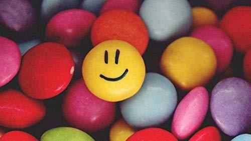 Puzzle Adultos 1000 Piezas Puzzle Emoticonos De Colores Uego Casual De Arte Diy Juguetes Regalo Interesantes Amigo Familiar Adecuado