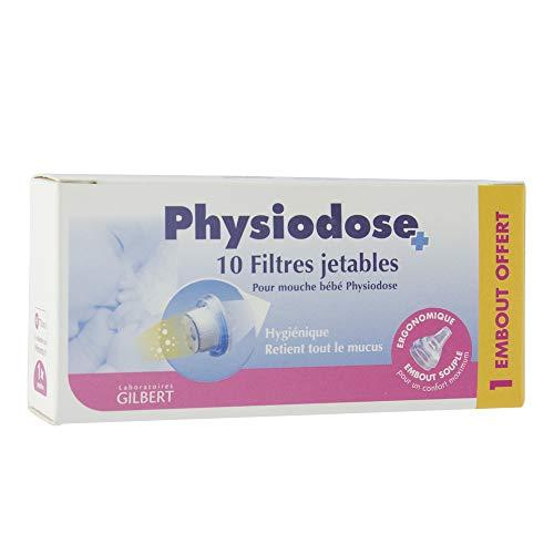 Gilbert Physiodose 20 Filtres Jetables pour Mouche Bébé