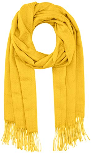 PIECES Damen PCKIAL NEW LONG SCARF NOOS BC Schal, Nugget Gold, ONE SIZE